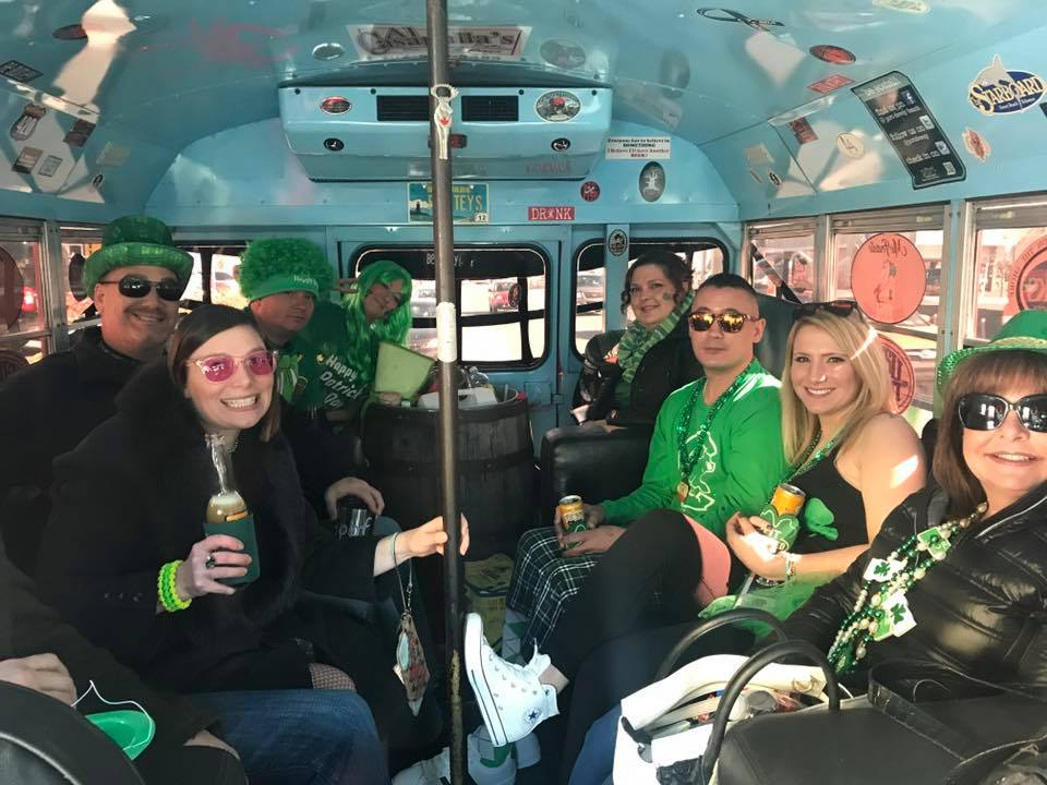 Pirate Party Bus