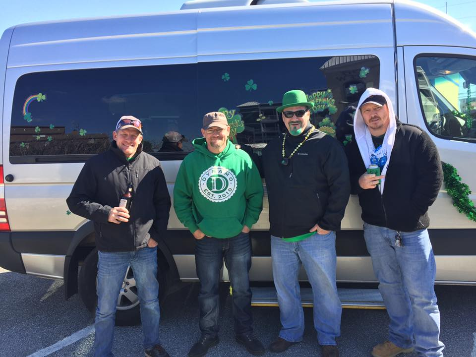 limo shuttle Pirate Party Bus