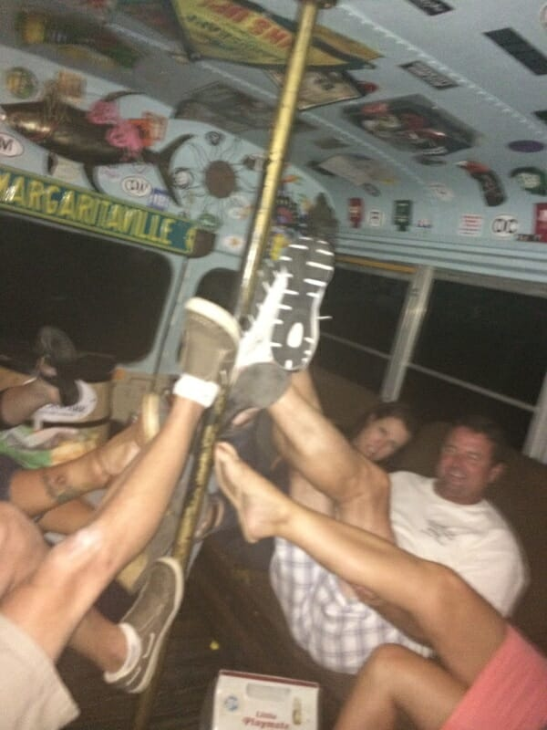Black Pearl Pirate Party Bus