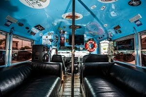 Bloody mary Pirate Party Bus