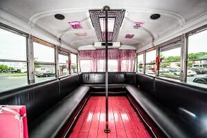 Pink Pearl Party Bus Rental Delaware